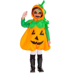 tectake Maskeraddräkt Barn Pumpa Orange 140