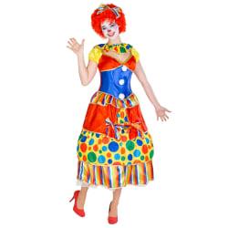 Maskeraddräkt Dam Clown Fridolina Red XL