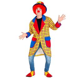 Maskeraddräkt Herr Clown Fridolin SunnyYellow XL
