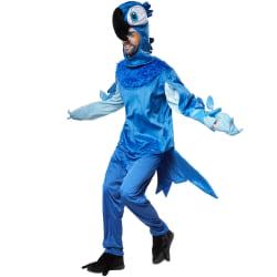 Präktig blå ara Blue M
