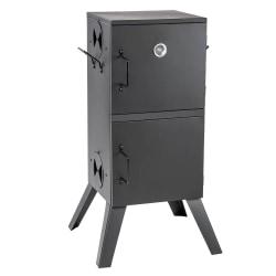 Rökskåp med temperaturangivelse svart