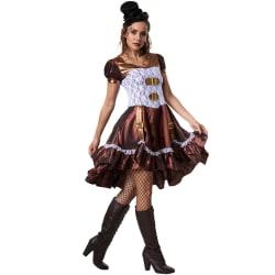 Steampunk-lady Brown XL
