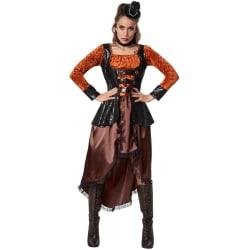 Steampunk-prinsessa Brown M