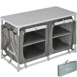 tectake Campingkök 97x47,5x56,5cm grå