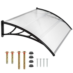 tectake Entrétak transparent - 150 cm Transparent