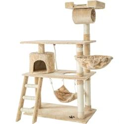 tectake Katt klösträd / klösmöbel Martin Beige
