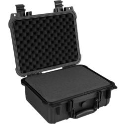 tectake Universalbox Kameraväska Skyddsväska Storlek - M Svart