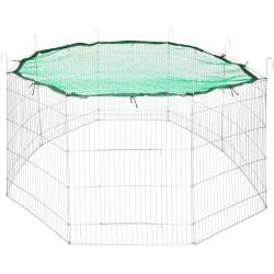 tectake Utomhushage med skyddsnät Ø 204cm Grön