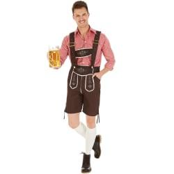 Tysk folkdräkt för herrar München Brown S