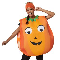 Unisexdräkt Cartoon-pumpa Orange one size