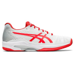 ASICS Solution Speed FF White/Red Clay/Padel Women 40.5