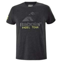 BABOLAT Padel Team Tee Black Mens L