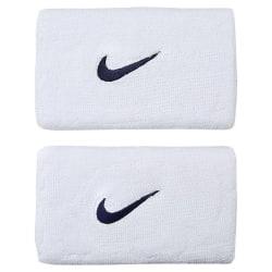 Nike Swoosh Wristband Doublewide White