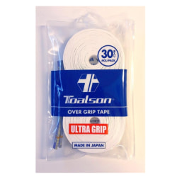 TOALSON Ultra Grip White 30-pack