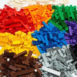 1000 delar Byggklossar Kompatibla med Lego
