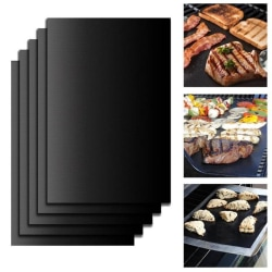 5-Pack Grillmatta Ugnsmatta & Bakningsmatta - Non Stick