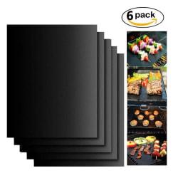 6-Pack Grillmatta Ugnsmatta & Bakningsmatta - Non Stick
