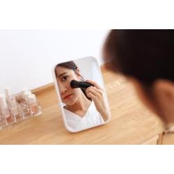 Bordsspegel - spegel Vit