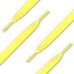 Ett par Skosnören - Längd: 120cm , Bredd: 10mm