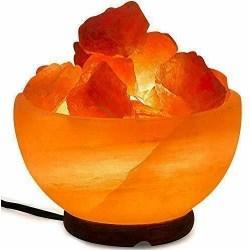 Himalaya Saltkristall skål Lampa sprider mysljus. 16cm ca 3.1kg