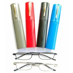 Läsglasögon i fodral Styrka +2,50