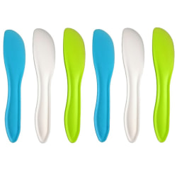 Pack om 6st Smörknivar i Polypropylen - smörkniv