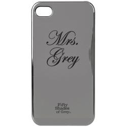 Skal för iPhone 5/5S - Fifty Shades of Grey Mrs Grey