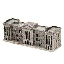 3D Pussel Metall - Berömda Byggnader - Buckingham Palace Färg