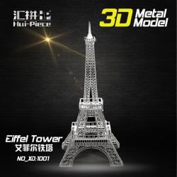 3D Pussel Metall - Berömda Byggnader - Eiffel Tower