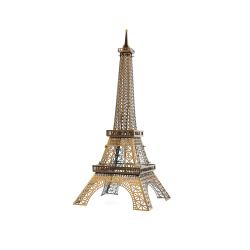 3D Pussel Metall - Berömda Byggnader - Eiffel Tower färg