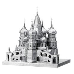 3D Pussel Metall - Berömda Byggnader - Saint Basils cathedral