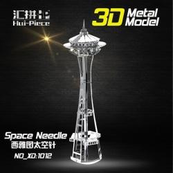 3D Pussel Metall - Berömda Byggnader - Space Needle