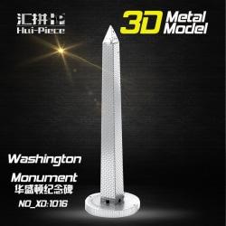 3D Pussel Metall - Berömda Byggnader - Washington Monument