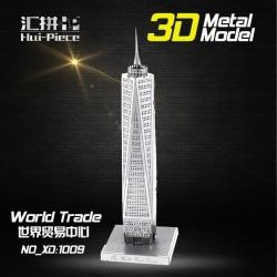3D Pussel Metall - Berömda Byggnader - World Trade Center