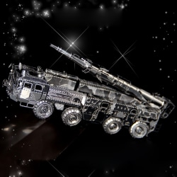 3D Pussel Metall - berömda fordon - DF-11 Missile carrier