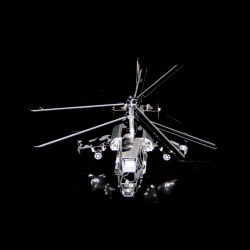3D Pussel Metall - berömda fordon - Kamov ka-50