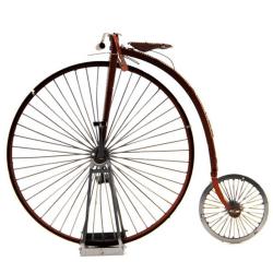 3D Pussel Metall - berömda fordon - klassisk gammal cykel