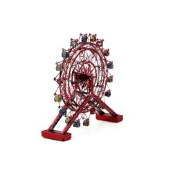 3D Pussel Metall - Berörmda byggnader - rotating ferris wheel