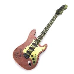 3D Pussel Metall - Instrument - Röd-Gul elgitarr