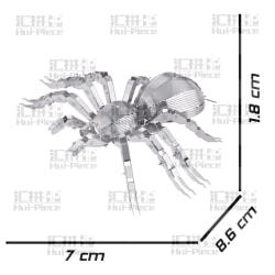 3D Pussel Metall - kända djur - Tarantella