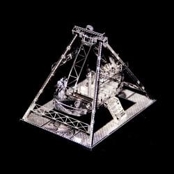 3D Pussel Metall - vikingaskeppet karussel