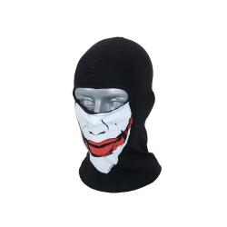 8FIELDS - Ansiktsmask / Balaclava - joker Svart