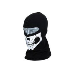 8FIELDS - Ansiktsmask / Balaclava - skull  Black