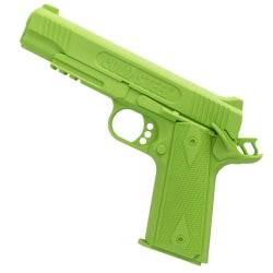 Cold Steel 1911 Tränings Pistol i Gummi (spänd och låst) Grön