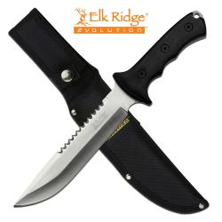 ELK RIDGE EVOLUTION - ERE-FIX003-BK - FULL TANG HUNTING KNIFE