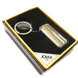 Joule Nyckelring USB Turbo-tändare - uppladdningsbar Silver