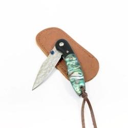 Mingtongli SW381 Elegant fällkniv med pärlemorhandtag