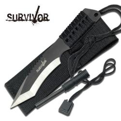 SURVIVOR - Jaktkniv - överlevnadskniv