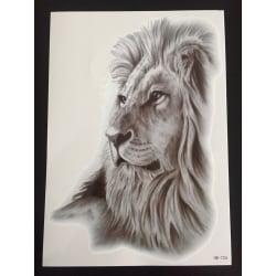 Tillfällig Tatuering 21 x 15cm - Lion