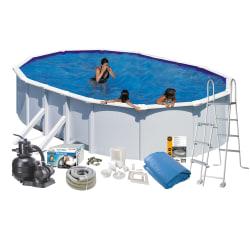 Pool Basic 132 500x300 cm White Sidesup.